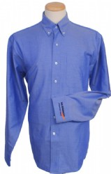 MI-SWACO - Men's Long-Sleeve Epic Easy Care Royal Oxford - Blue